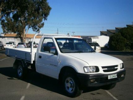 2001 Holden Rodeo TFR9 LX White 5 Speed Manual Cab Chassis Braybrook Maribyrnong Area Preview