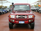 2014 Toyota Landcruiser VDJ79R MY12 Update GXL (4x4) Red 5 Speed Manual Double Cab Chassis Jandakot Cockburn Area image 2