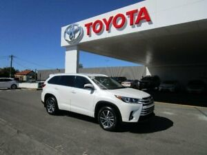 2017 Toyota Kluger GSU50R MY17 GXL (4x2) Crystal Pearl 8 Speed Automatic Wagon Belmore Canterbury Area Preview