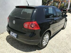 2006 Volkswagen Golf 1K 1.6 Comfortline Black 6 Speed Direct Shift Hatchback Seaford Frankston Area Preview