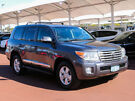 2012 Toyota Landcruiser VDJ200R MY12 Sahara (4x4) Grey 6 Speed Automatic Wagon