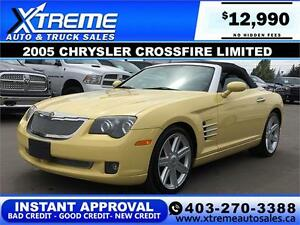 2005 Chrysler Crossfire Roadster Limited APPLY NOW DRIVE NOW
