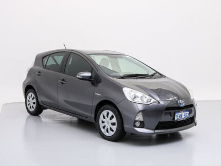 2014 Toyota Prius c NHP10R Hybrid Grey Continuous Variable Hatchback Jandakot Cockburn Area Preview