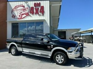 2013 Ram 2500 Laramie Black Semi Auto Dual Cab Bells Creek Caloundra Area Preview