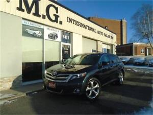 2014 Toyota Venza Limited AWD V6 w/Leather/Navi/Pano Roof