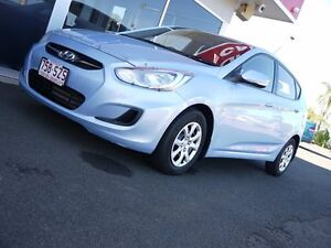2012 Hyundai Accent RB Active Blue 4 Speed Sports Automatic Hatchback Svensson Heights Bundaberg City Preview