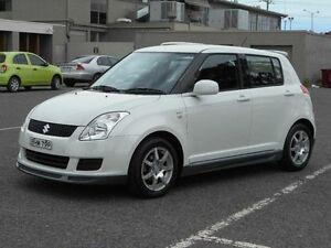 2008 Suzuki Swift EZ 07 Update White 5 Speed Manual Hatchback Maidstone Maribyrnong Area Preview