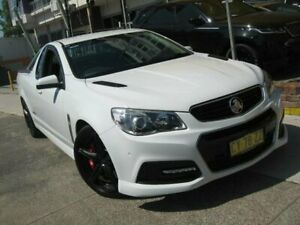 2013 Holden Ute VF SS White 6 Speed Automatic Utility