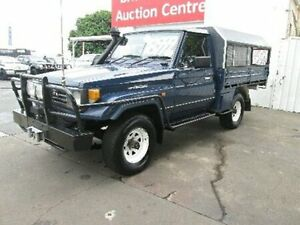1994 Toyota Landcruiser HZJ75RP Blue 5 Speed Manual Cab Chassis Coopers Plains Brisbane South West Preview