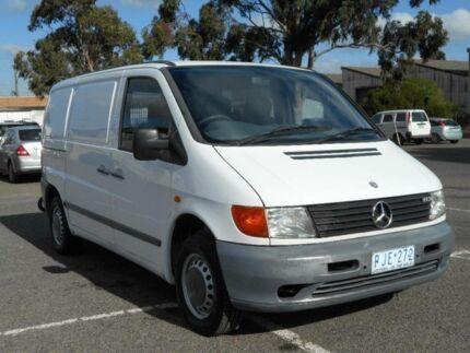 1998 Mercedes-Benz Vito 113 White 5 Speed Manual Van