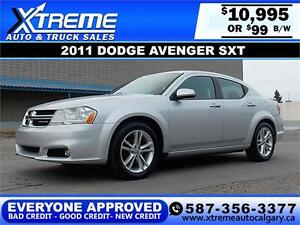 2011 Dodge Avenger SXT $99 BI-WEEKLY APPLY NOW DRIVE NOW