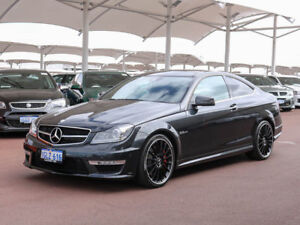 2012 Mercedes-Benz C63 W204 MY11 AMG Grey 7 Speed Automatic G-Tronic Coupe