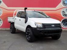 2012 Ford Ranger PX XL 3.2 (4x4) White 6 Speed Automatic Dual Cab Chassis West Gosford Gosford Area Preview