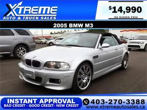 2005 BMW M3 CALL NOW DRIVE NOW