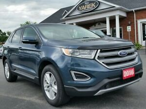 2016 Ford Edge SEL AWD, Pano Roof, NAV, Heated Seats, Pwr Gate,