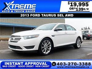 2014 Ford Taurus Limited  AWD $169 BIWEEKLY APPLY NOW DRIVE NOW