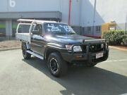 2002 Nissan Patrol GU DX Plus Black 5 Speed Manual Cab Chassis Coopers Plains Brisbane South West Preview