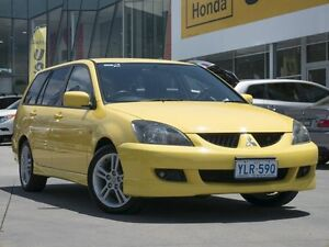 2004 Mitsubishi Lancer CH MY05 VR-X Yellow 5 Speed Manual Wagon Pearce Woden Valley Preview