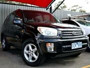 2003 Toyota RAV4 ACA21R Cruiser Black 4 Speed Automatic Wagon Fawkner Moreland Area Preview