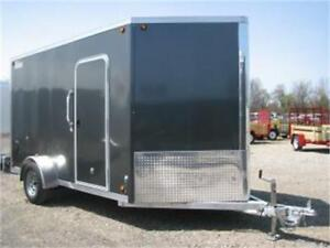 Remorque Fermée aluminium 7x15 / Enclosed Trailer