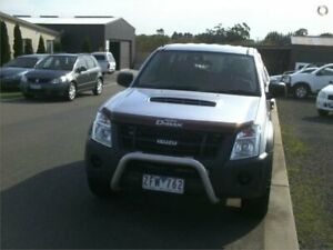 2012 Isuzu D-MAX TF MY12 SX (4x4) Silver 5 Speed Automatic Crew Cab Chassis Traralgon Latrobe Valley Preview
