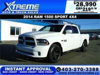 2014 RAM 1500 SPORT CREW CAB $219 B/W APPLY NOW DRIVE NOW Calgary Alberta Preview