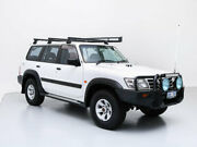 2003 Nissan Patrol GU III ST (4x4) White 5 Speed Manual Wagon Jandakot Cockburn Area Preview