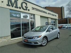 2012 Honda Civic Sdn EX w/Bluetooth/Sunroof