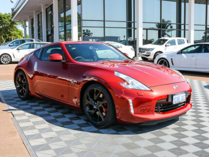 2013 Nissan 370Z Z34 MY13.5 Red 7 Speed Sports Automatic Coupe