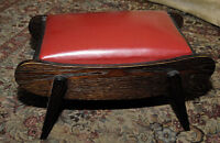 Well-made chairs, end tables, storage tables and foot stools!