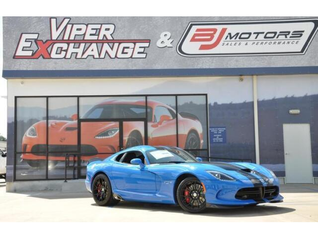 Image 1 of Dodge: Viper SRT Blue…