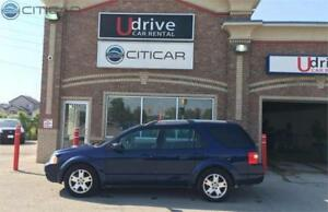 2005 FORD FREESTYLE LIMITED. AWD*LEATHER LOADED*DVD*6 PASSENGERS