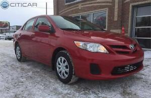 2012 TOYOTA COROLLA LE. ONE OWNER! HEATED SEATS! CERTIFIED!!