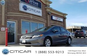 2012 HONDA CIVIC LX,**ONE OWNER**BLUETOOTH**ECO SYSTEM**