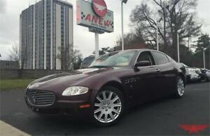 2007 MASERATI QUATTROPORTE - CERITFICATION AND ETEST INCLUDED