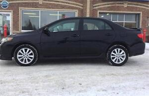 2010 Toyota Corolla S. SPORT KIT. FOG! LOW KM! ONE OWNER! CLEAN!