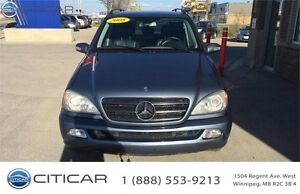 2005 Mercedes-Benz M-Class 4 MATIC. ALL WHEEL DRIVE. 7 PASSENGER