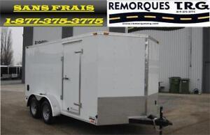 Special remorque 7X14 plus V-Nose