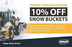 Snow Buckets at 10% OFF