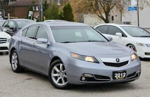 2012 Acura TL - Accident Free - Leather - Sunroof - Certified!