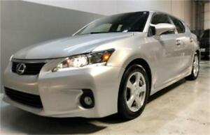 2012 Lexus CT 200h  $129 bi-weekly