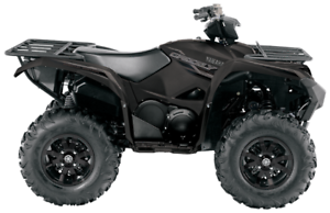 2017 YAMAHA GRIZZLY EPS SE TACTICAL BLACK UP TO $600 IN REBATES