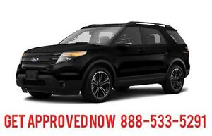 2014 Ford Explorer Limited AWD LOADED Finance for $262 B/W
