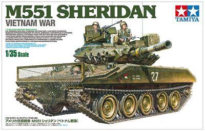 Tamiya 1/35 M551 Sheridan U.S Airborne Tank (Vietnam War ) # 35365