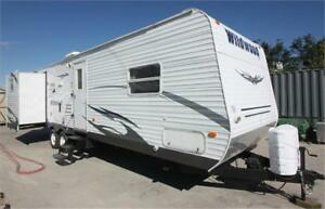 Used Wildwood Trailer with Bunk Room