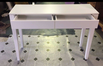 BRAND NEW FREEDOM FURNITURE AXIS 2 DRAWER CONSOLE