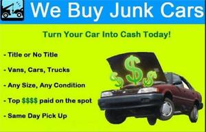 CASH FOR CARS TRUCKS USED SCRAP JUNK OLD DAMAGED VEHICLE BUYER