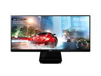 "GAMER 29INCH ( LG ) 29"" Class 21:9 UltraWide® IPS LED Monitor (29"" Diagonal) 29UM67-P, ALL BOXED"