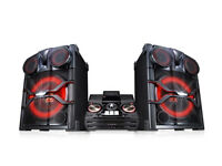 LG CM9740 - High-Power-Hifi-Anlage with speakern (2.900 Watt) di system