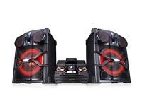 LG CM9740 - High-Power-Hifi-Anlage with speakern (2.900 Watt) di system